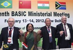 Joint Statement issued at the conclusion of the 10th BASIC ministerial meeting on climate change, February 13-14, 2012, New Delhi