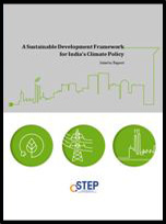 A sustainable development framework for India's climate policy: interim report