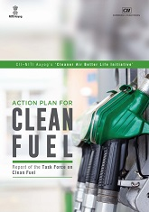 Action plan for clean fuel: report of the task force on clean fuel