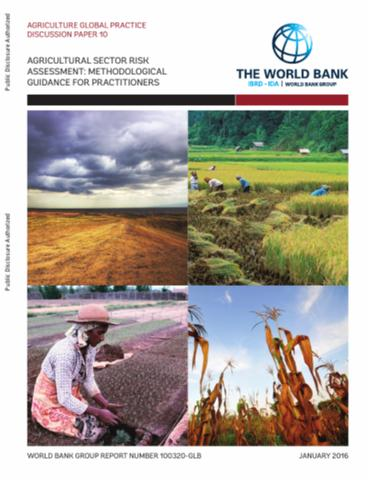 Agricultural sector risk assessment: methodological guidance for practitioners
