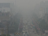 Air pollution survey on Kaushambi
