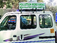 Mobile air quality monitoring system reaches city