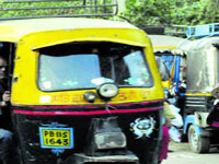 Auto-rickshaws continue to choke city roads