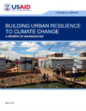 Building urban resilience to climate change: a review of Madagascar