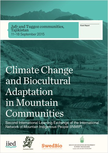 Climate change and biocultural adaptation in mountain communities