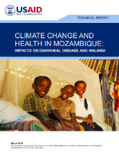 Climate change and health in Mozambique: impacts on diarrheal disease and malaria