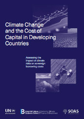 Climate change and the cost of capital in Developing Countries