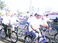 GEC to get bicycles to reduce pollution