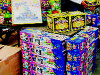 Rules go up in smoke at most firecracker shops in Chennai