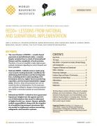 Ending tropical deforestation: REDD+ - lessons from National and Subnational Implementation