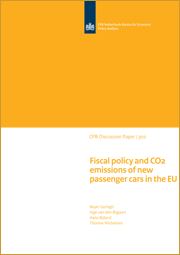 Fiscal policy and CO2 emissions of new passenger cars in the EU