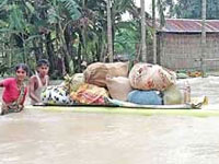 Assam: Flood situation grim, affects NRC work