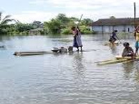 Flash-flood cripples normal life in Nongstoin