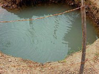 Ground water table healthy, can be of non-potable use if tapped well