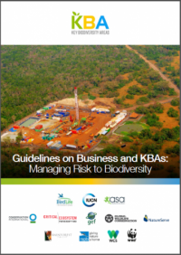 Guidelines on business and KBAs: managing risk to biodiversity