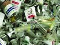 No system to manage bio-medical waste