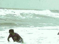 Hudhud cyclone spares Nellore district