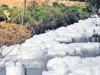 Hyderabad lake goes Bellandur way, toxic foam can gush into taps