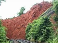 Heavy landslides in Assam; train services disrupted, cancelled
