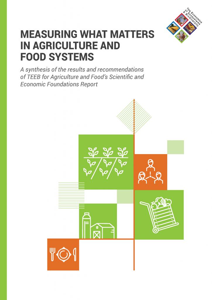 Measuring what matters in agriculture and food systems
