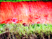 Red earth mining goes unchecked