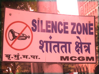 Silence evades silence zones in India