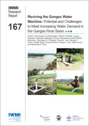Reviving the Ganges water machine: potential and challenges to meet increasing water demand in the Ganges River Basin
