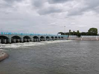 Cauvery water flows quietly to Tamil Nadu