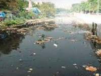 Rights Body Lens on River Pollution