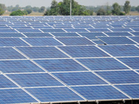 Overcapacity shines on Indian solar sector