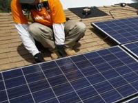 Solar power plants fail to generate jobs to skilled locals of Anantapur district