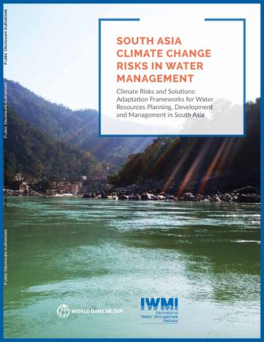 South Asia climate change risks in water management