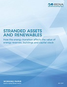 Stranded assets and renewable: how the energy transition affects the value of energy reserves, buildings and capital stock