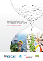 Transformations for sustainable development: promoting environmental sustainability in Asia and the Pacific