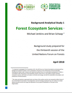 Untapped potential: forest ecosystem services for achieving SDG 15