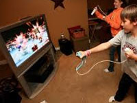 Video games impact on kids health