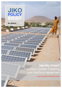 Identity crisis? voluntary carbon crediting and the Paris Agreement