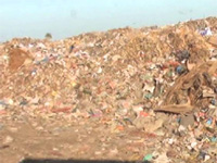 Ramban presents a grim sight with heaps of garbage everywhere