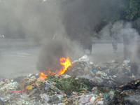 Fire at Ghazipur landfill, more expected as mercury rises