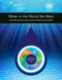 Water in the world we want: catalysing national water-related sustainable development