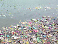 Save Yamuna: Flower waste turned into items for havan