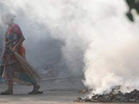 Burning waste, vehicle fumes turn air toxic