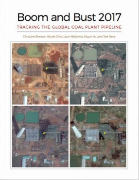 Boom and bust 2017: tracking the global coal plant pipeline