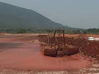 Villagers for bauxite mining