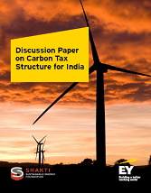 Discussion paper on carbon tax structure for India