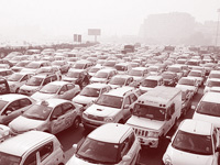 Switch to clean vehicles or be bulldozed: Nitin Gadkari to automakers