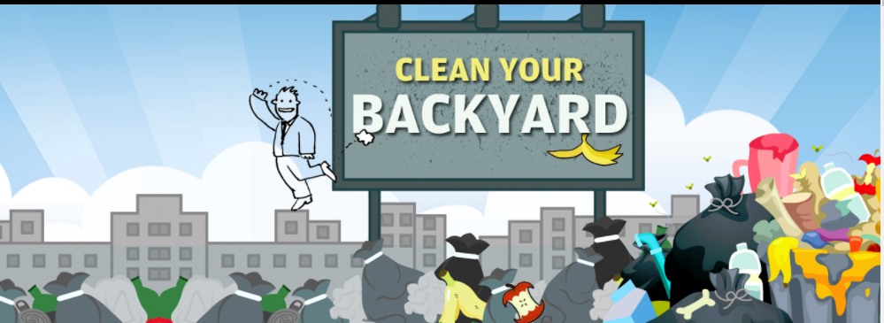 Clean Your Backyard
