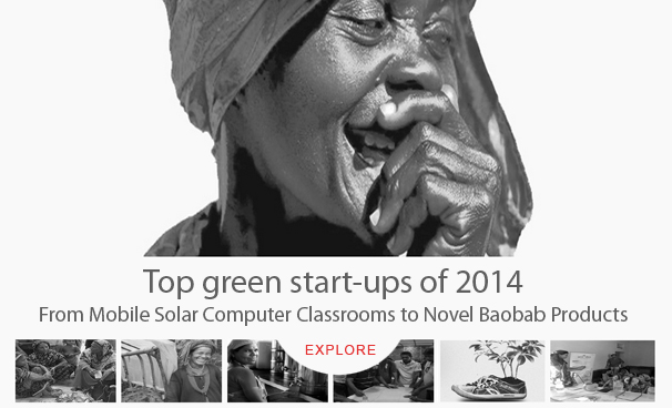 Top green start-ups of 2014