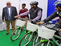 Cycle-sharing system gets a thumbs up