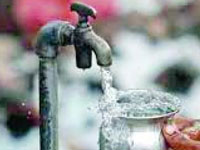Poor quality work alleged in drinking water unit
